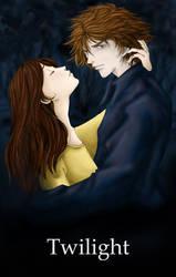 Bella and Edward : Twilight by Rachaella