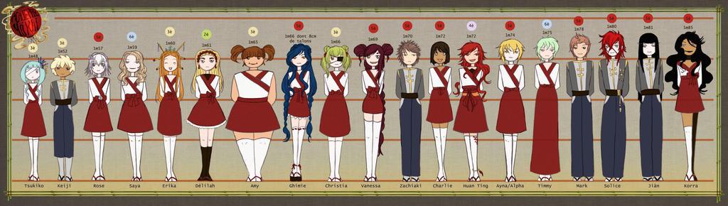 Academie Yokai Students