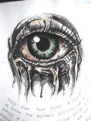 zombie eye by sophi--e