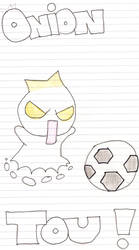 Soccer onion Tou by LilChocoholic