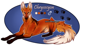 Feral Jader: Chrysocyon [Auction- CLOSED]