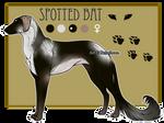 Domestic Jader- Spotted Bat [Raffle-CLOSED]
