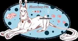 Domestic Jader- Strawberry Pie [Bean- Grown]