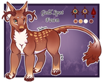 Feral Jader- Gold Spot Fawn [Auction- CLOSED]