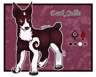 Domestic Jader- Dark Collie [Auction- CLOSED] by Jendalee