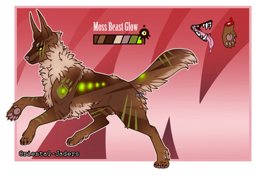 Feral Jader- Moss Beast Glow [Auction-CLOSED] by Jendalee