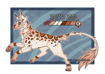 Feral Jader- Spotted Sand [Auction-CLOSED]