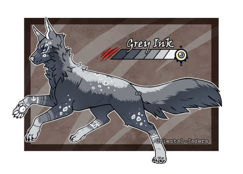 Domestic Jader- Grey Ink [Auction-CLOSED]