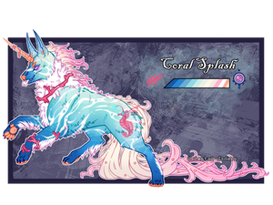 Imperial Jader - Coral Splash [Auction - CLOSED]