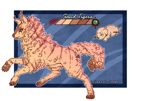 Feral Jader- Sand Tigera [Bean- Grown]