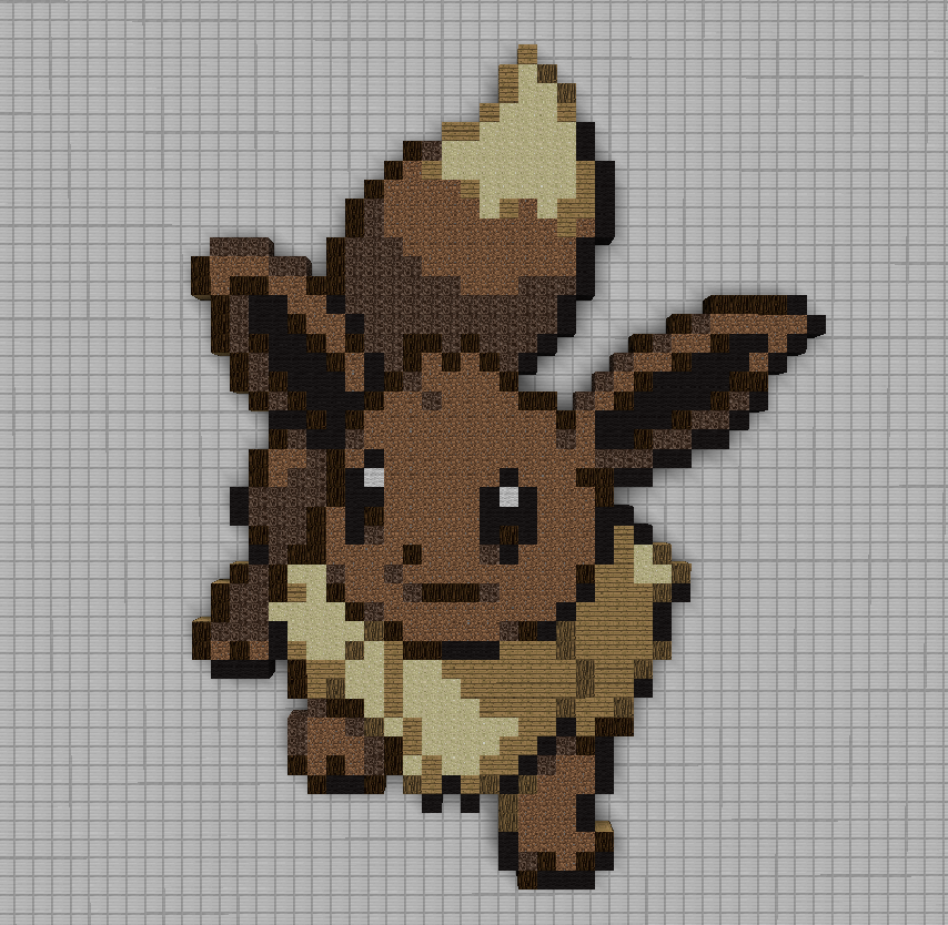 Pixel Art Pokemon Evolie