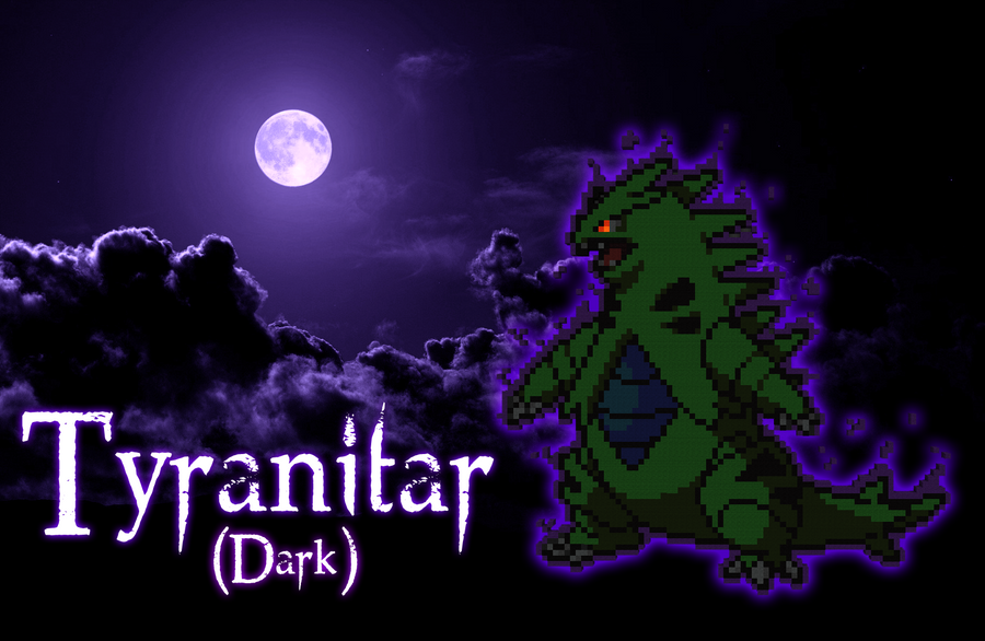 Tyranitar (Dark) by PkmnMc on deviantART