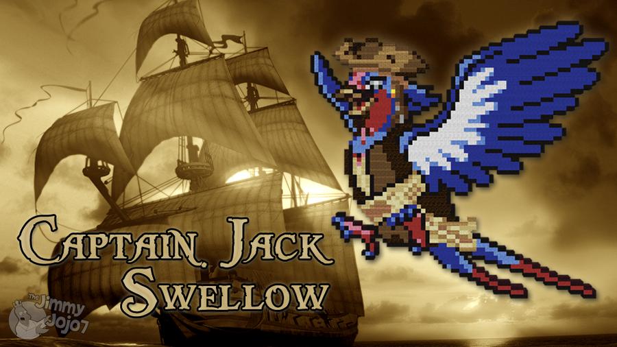 Captain Jack Swellow (w/ Timelapse) by PkmnMc