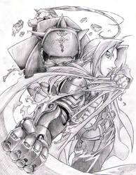 +Fullmetal Alchemist+ by vjvarada