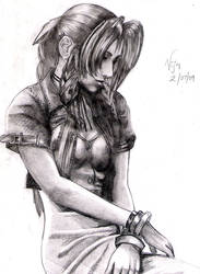 Aerith : Final Fantasy 7 by vjvarada