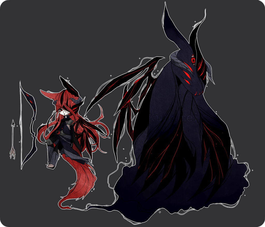 MYO Shadow Monster [Personal] by Kunamei on DeviantArt  MYO Shadow Mons...
