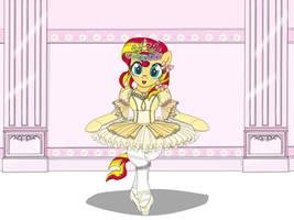 SunsetShimmer Ballet Girl by AVCHonline