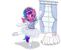 Request: Melody Aurora ballet girl by AVCHonline