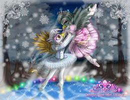 Commission: [Diamond music box] I_ Glacier fairy by AVCHonline