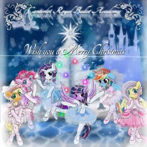 Canterlot Royal Ballet Acadey Christmas poster