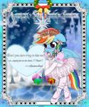 The Mistletoe card02 -RainbowDash