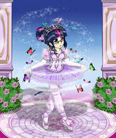 EQG Sci Twilight ballet girl by AVCHonline