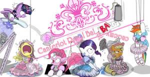 Canterlot Royal BAAAAAlet acadeMee loGOOOO!! by AVCHonline