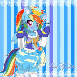 Cure Gelato Rainbowdash by AVCHonline