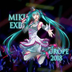 Miku EXPO 2018 by RozenTrue