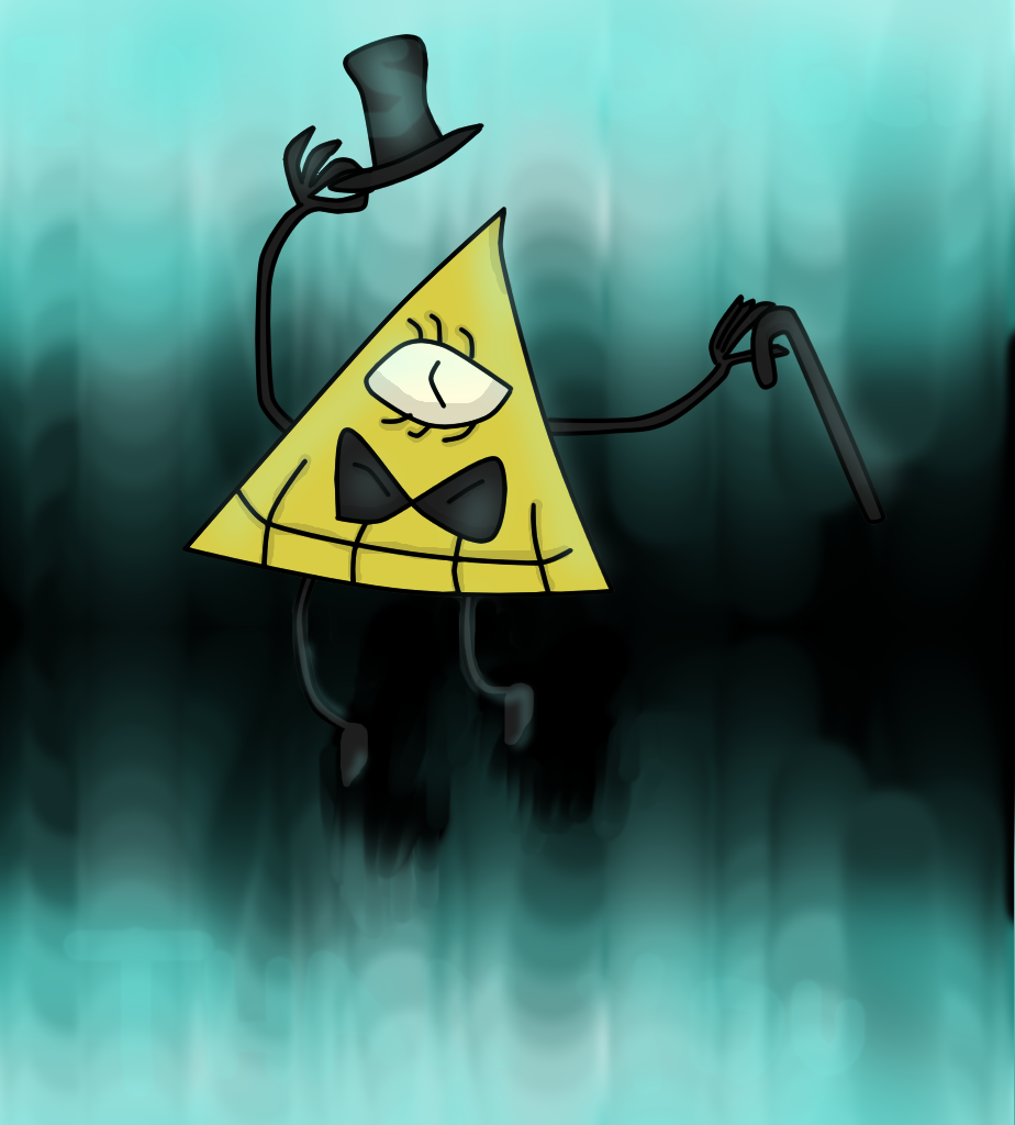 Bill Cipher (Updated) by SansSkeletonHUN