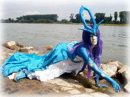 Pokemon Suicune Cosplay 3 by LostRiddle