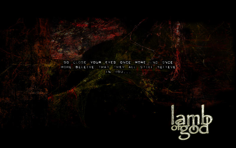 Lamb Of God Wallpaper By Daveac1117 On Deviantart