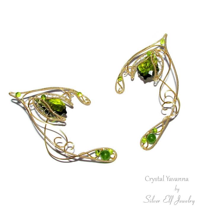 Crystal Yavanna    elf ears by Lyriel-MoonShadow