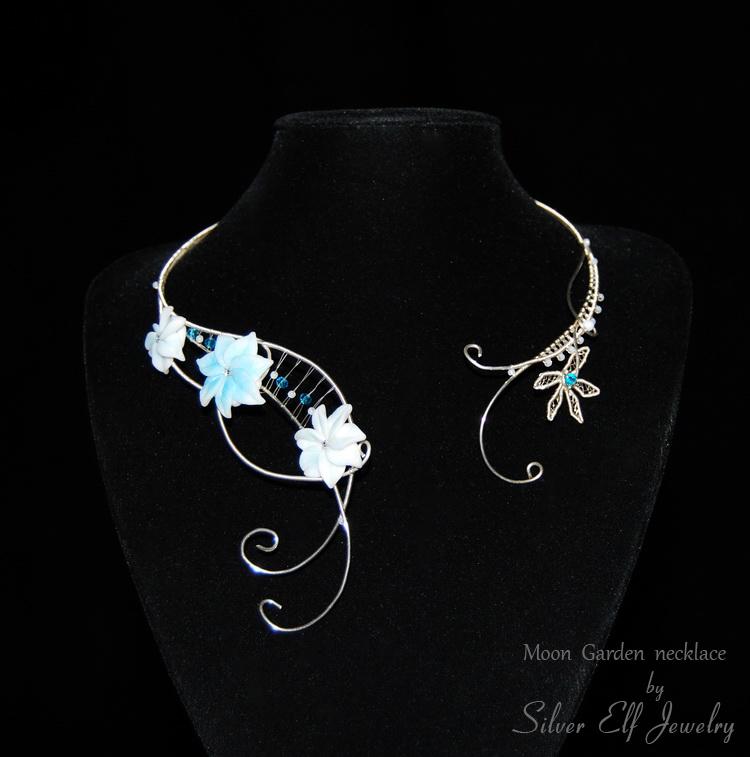 Moon Garden Necklace by Lyriel-MoonShadow