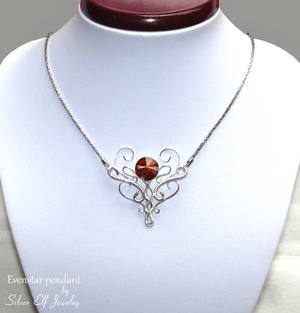 Evenstar pendant by Lyriel-MoonShadow