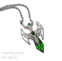 Weapon Master pendant by Lyriel-MoonShadow