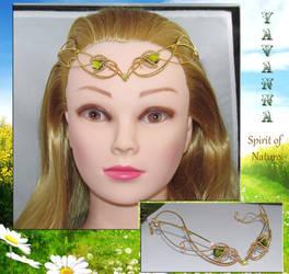 Spirit of Nature tiara by Lyriel-MoonShadow