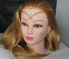 Elven Princess Tiara on model by Lyriel-MoonShadow