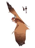 Imperial Fledershrew (male) art concept