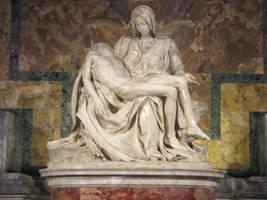 Pieta by Michelangelo, St. Peter's Basilica.