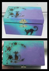 Cat box by daeris-art