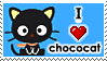 Chococat Stamp by luneves