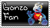 Gonzo Fan Stamp by luneves