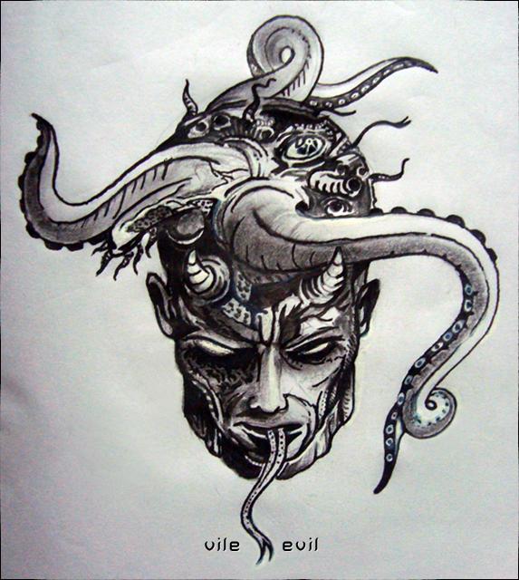 Vile Evil by blinddayze