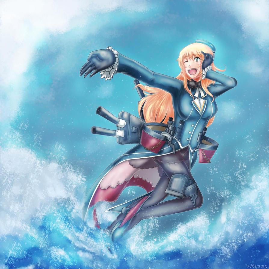 KanColle: Heavy Cruiser Atago by HonooNoKarite