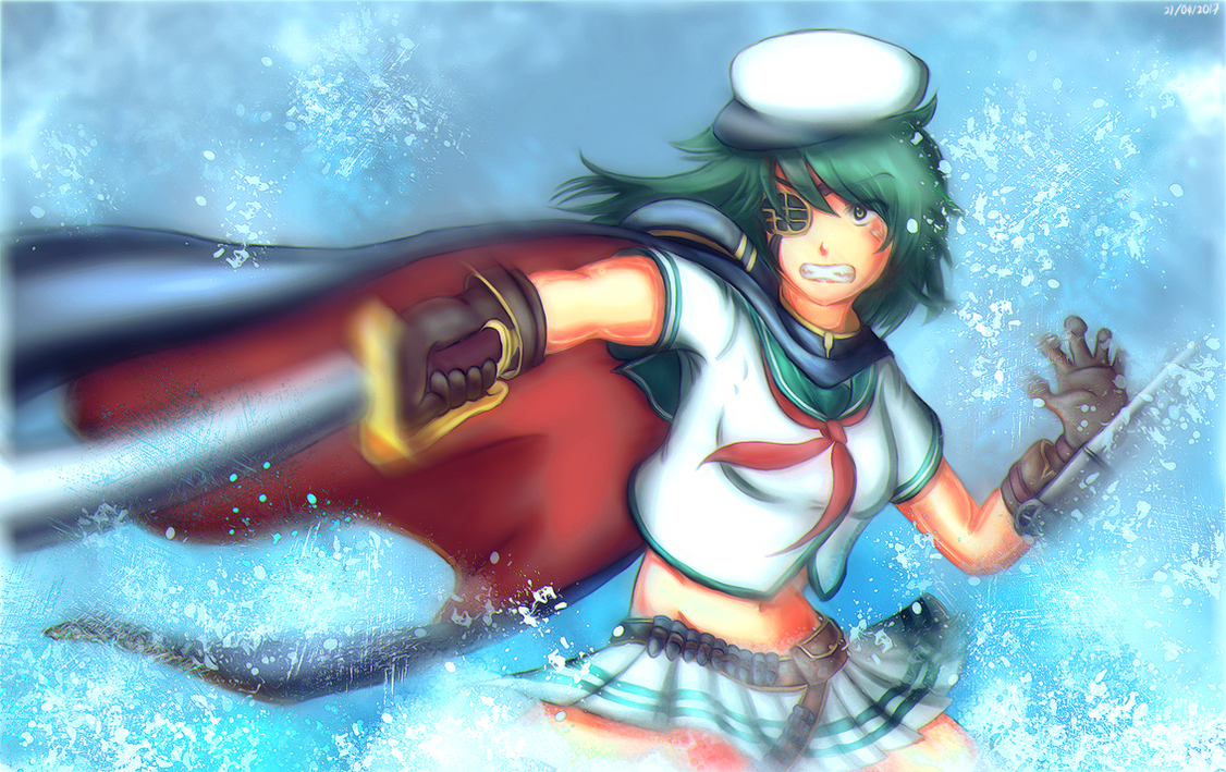 KanColle: Assassin-ish Kiso by HonooNoKarite