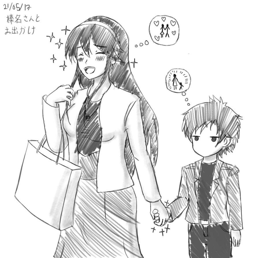 KanColle: Outing With Haruna by HonooNoKarite
