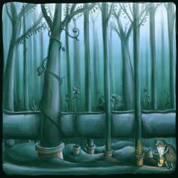 Hidden Garden by Aaron-Randy
