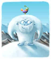 White Yeti by Aaron-Randy