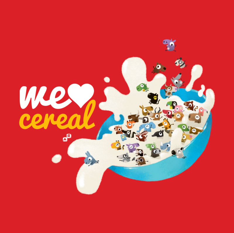 We Love Cereal by Aaron-Randy